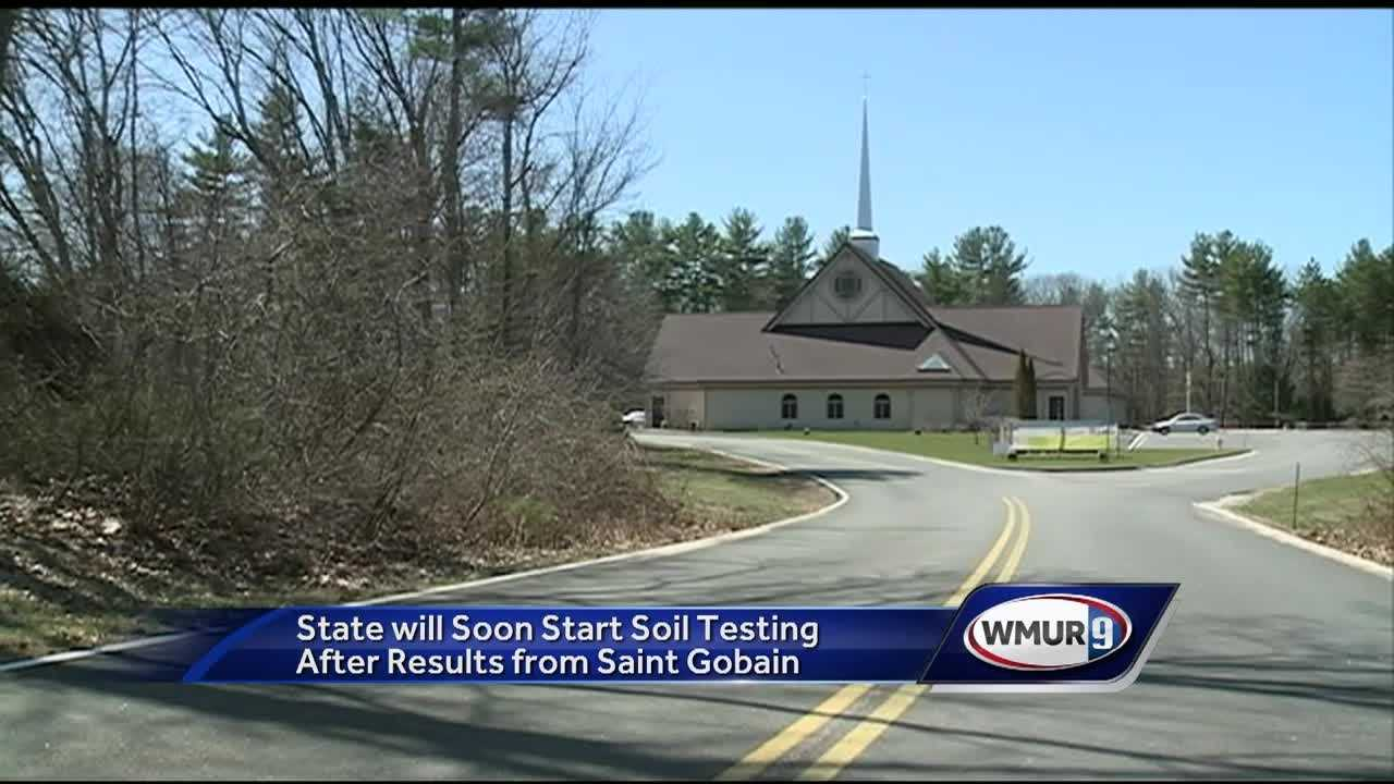 From parks to day cares, the state will start gathering soil samples to test for contamination after samples from the grounds of a Merrimack facility tested positive for PFOA.