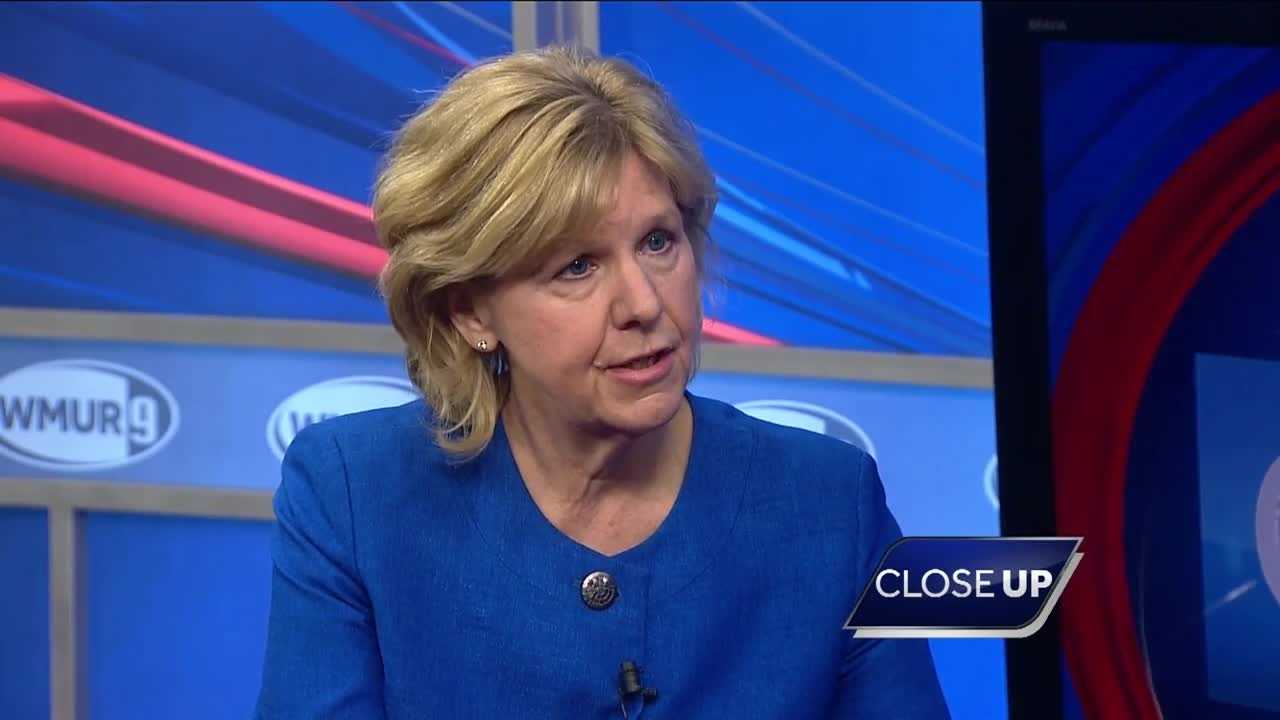 Gubernatorial candidate Jeanie Forrester sits down with WMUR Political Director Josh McElveen on CloseUP.
