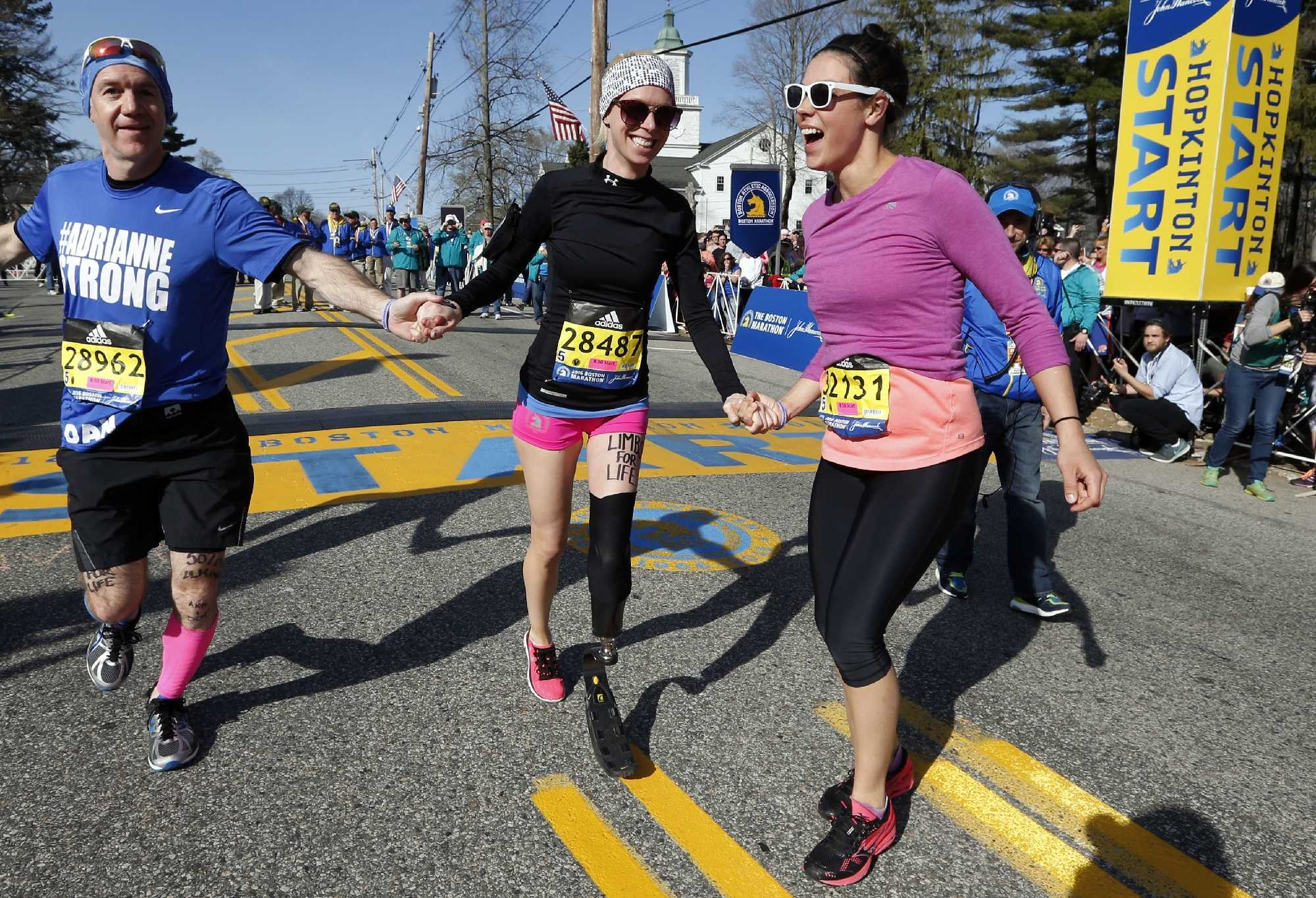 Photos: Honoring Boston Marathon bombing victims pictures