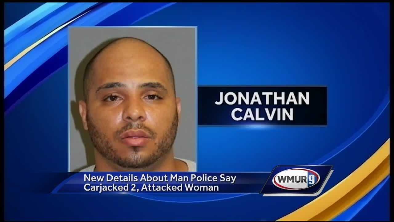 A man accused of two carjackings that led to an eight-car crash Friday has some misdemeanor convictions on his record.