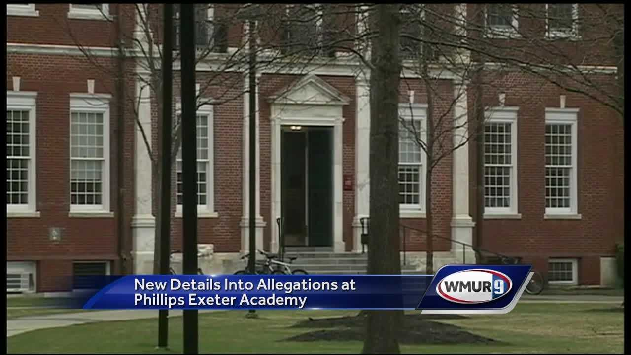New details have been released about a sexual misconduct investigation at Phillips Exeter Academy.