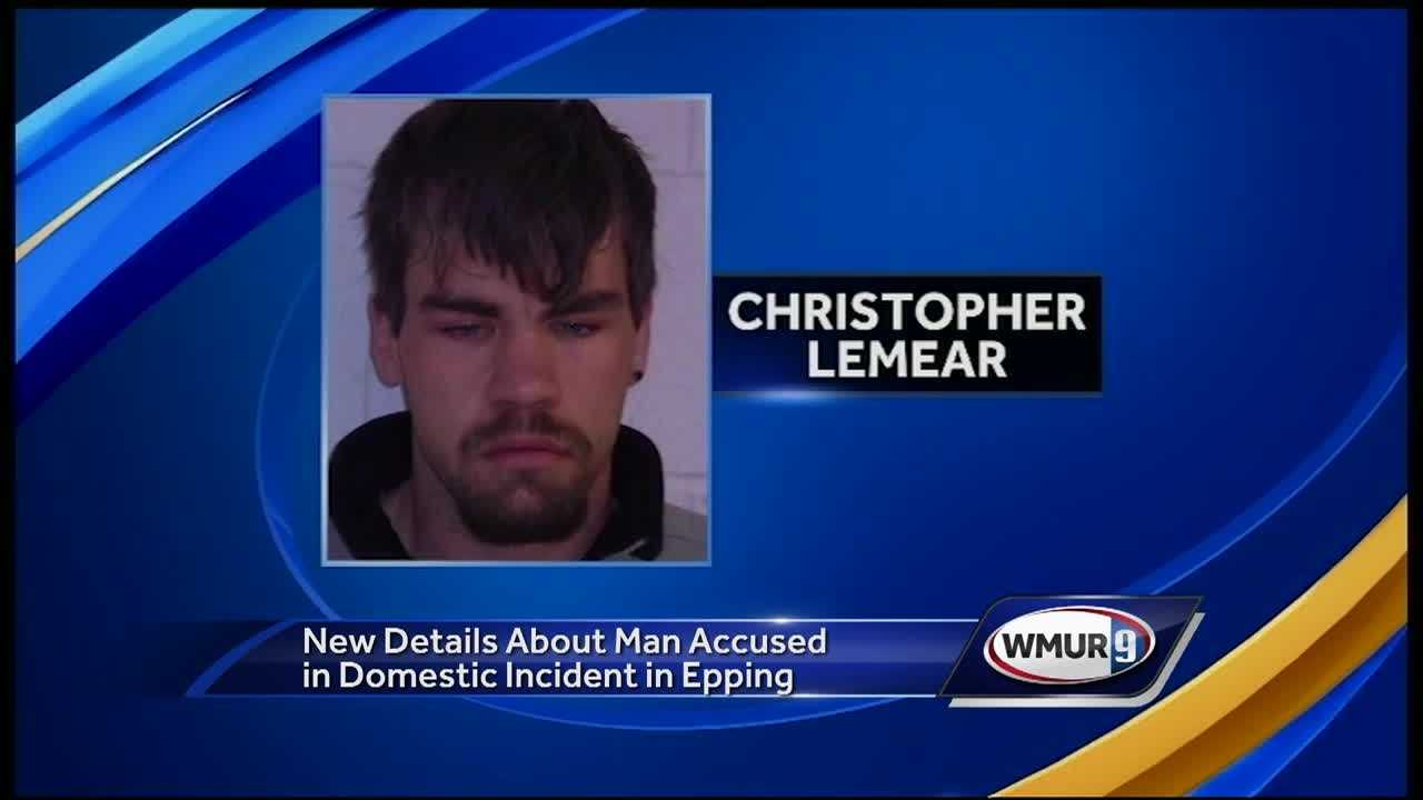A man accused of firing shots outside a home Monday during a domestic dispute, triggering a 14-hour manhunt in Epping, refused to appear in court Wednesday.