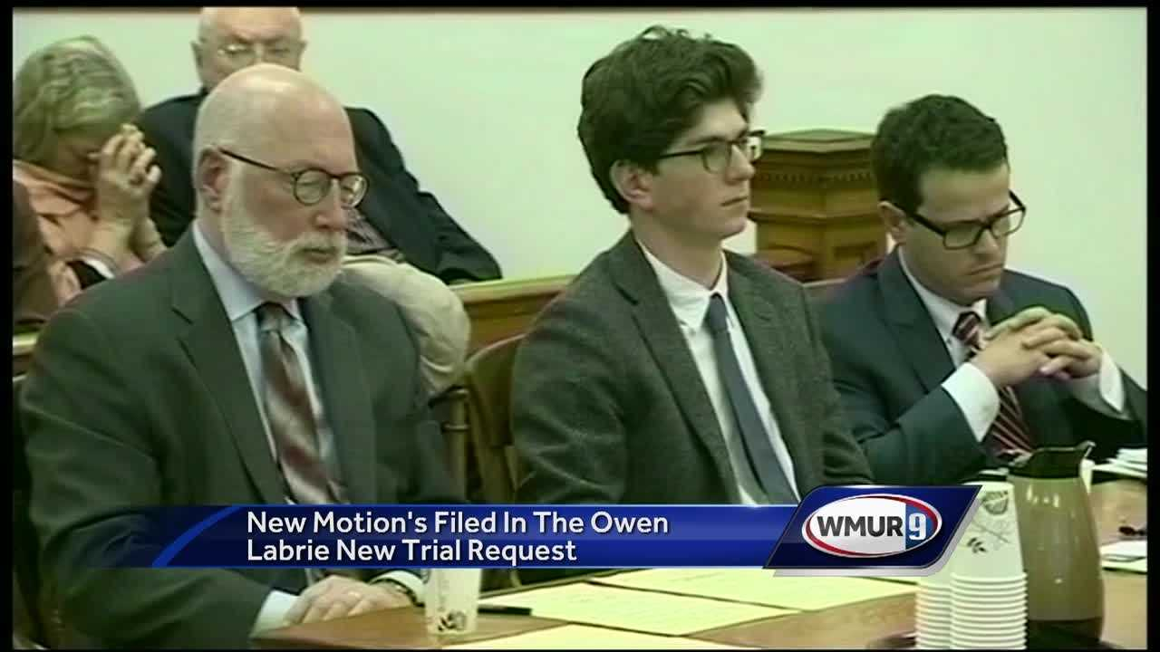 Two new motions have been filed in the Owen Labrie case.