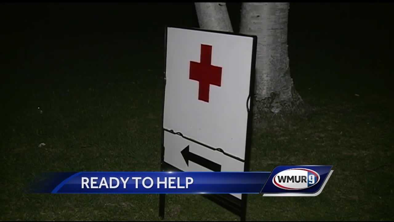 Keene, Stoddard, Red Cross, brush fire, emergency response