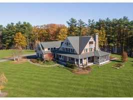 The landmark waterfront estate located in Dover is on the market for $2,495,000. View the listing here.