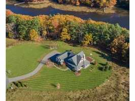 The exclusive equestrian facility known as Fresh Creek Farm sits on 3.6 acres of land.