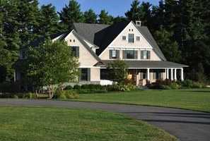 The home has pre-oiled cedar shingles and Lepage windows and doors.