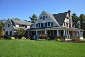 The home has one of the most remarkable facades in the entire Seacoast.