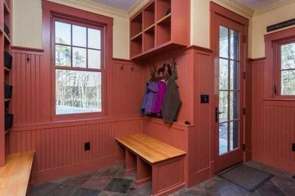 This mudroom offers a secondary point of entry into the home. View the listing here.