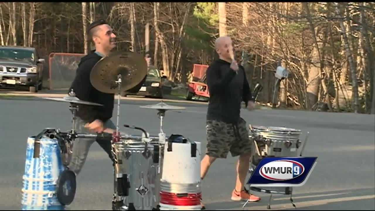An alternative band with roots in New Hampshire surprised a Goffstown girl battling cancer Saturday.