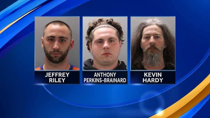 "Eight people were arrested in a ""riot-like"" incident in Bedford Friday night."