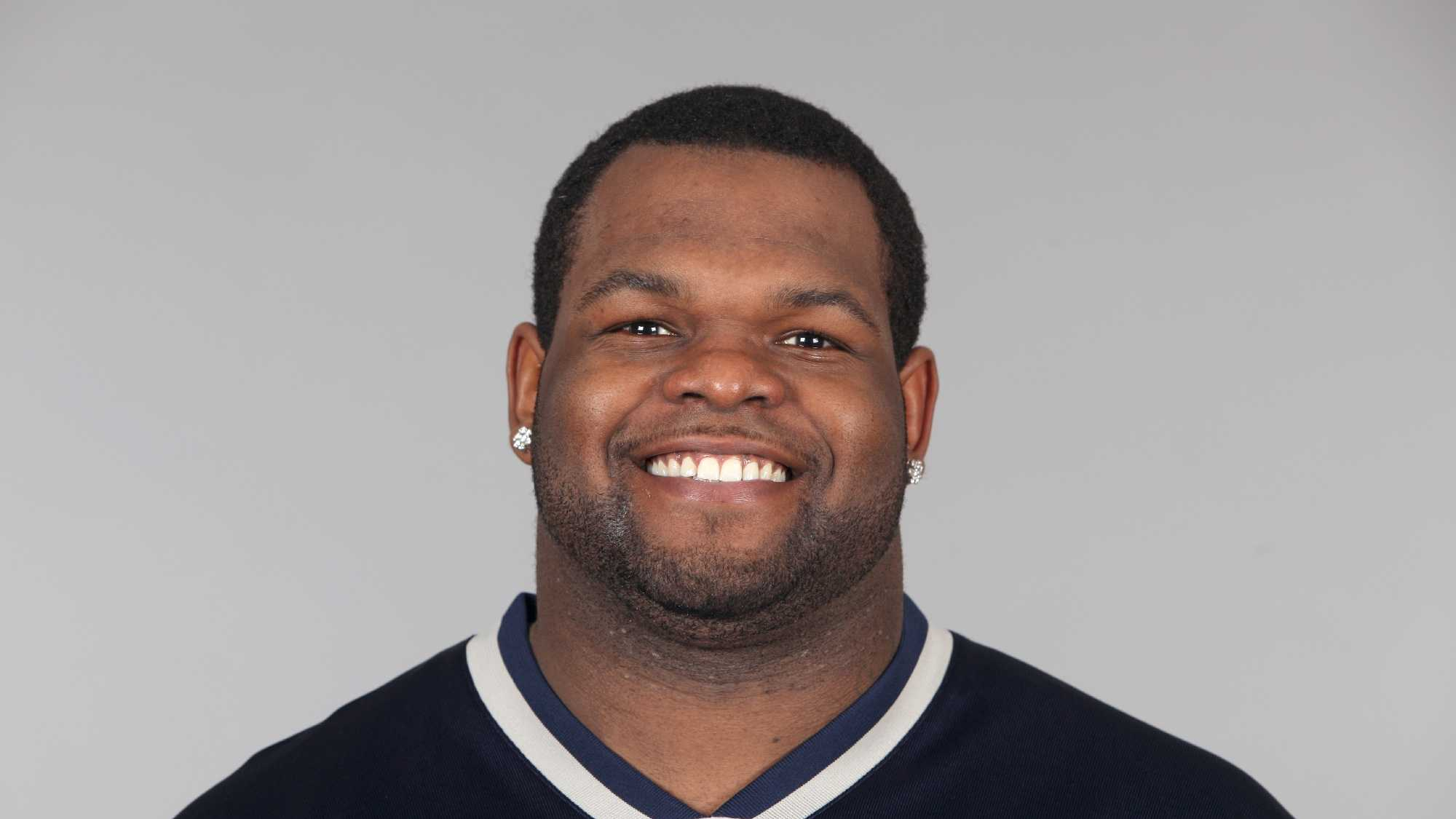 This is a 2010 photo of Ron Brace of the New England Patriots NFL football team. This image reflects the New England Patriots active roster as of Friday, April 30, 2010 when this image was taken.