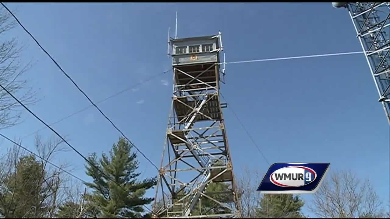 It's more than just a pretty view&#x3B; fire towers allow officials to detect brush fires early.