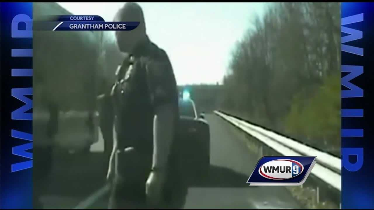 State police are issuing a warning to drivers after a trooper's close call was caught on camera.