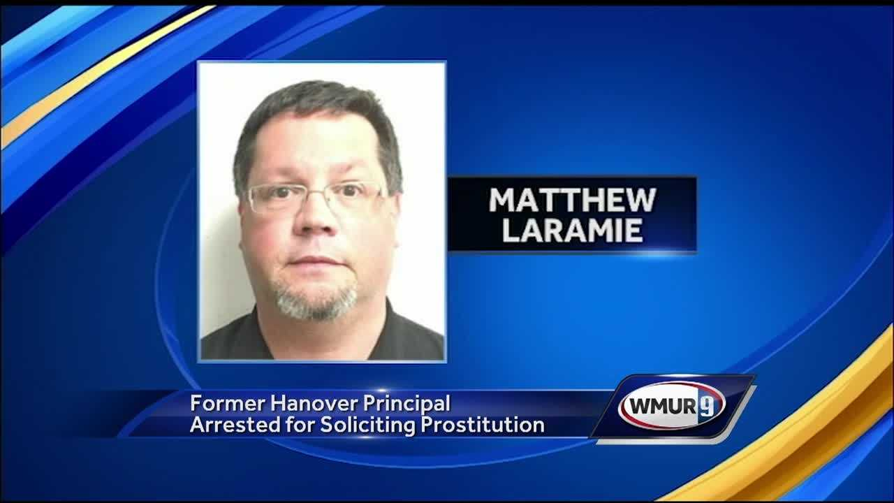 A former elementary school principal arrested as part of a prostitution sting was already under scrutiny after abruptly resigning from the school.