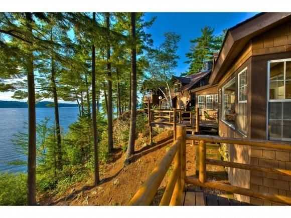 This waterfront estate in Newbury is on the market for $6,995,000. See the listing here.