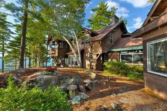 The shoreline property offers one of the last intact large-land parcels on Lake Sunapee's prestigious eastern shore.