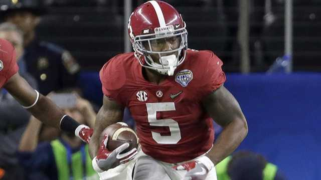Defensive back Cyrus Jones.