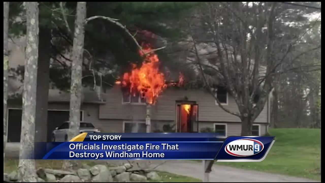 A house in Windham was destroyed by a 2 alarm fire Saturday afternoon.