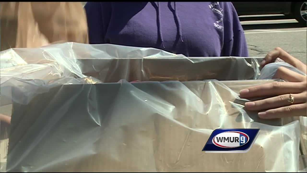 Hundreds of pounds of prescription drugs in New Hampshire are on their way to incineration Saturday.