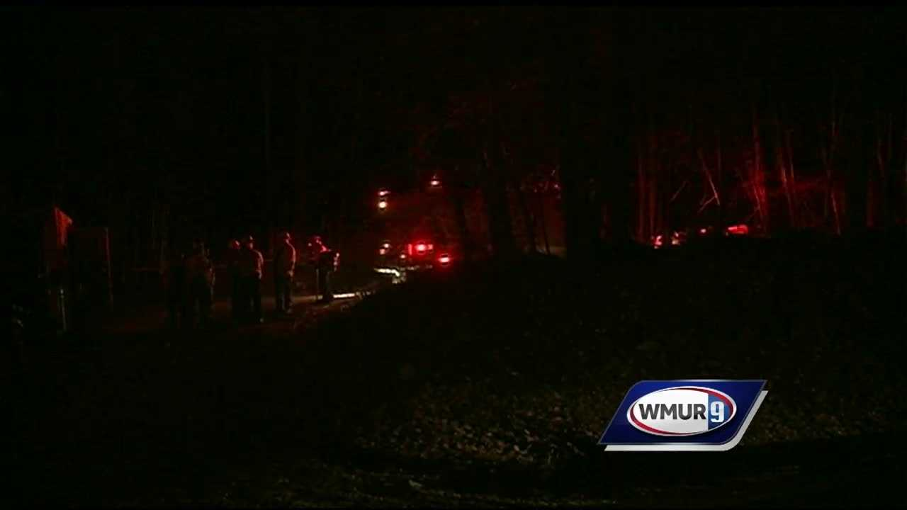A four-alarm brush fire in Alstead is now considered suspicious.