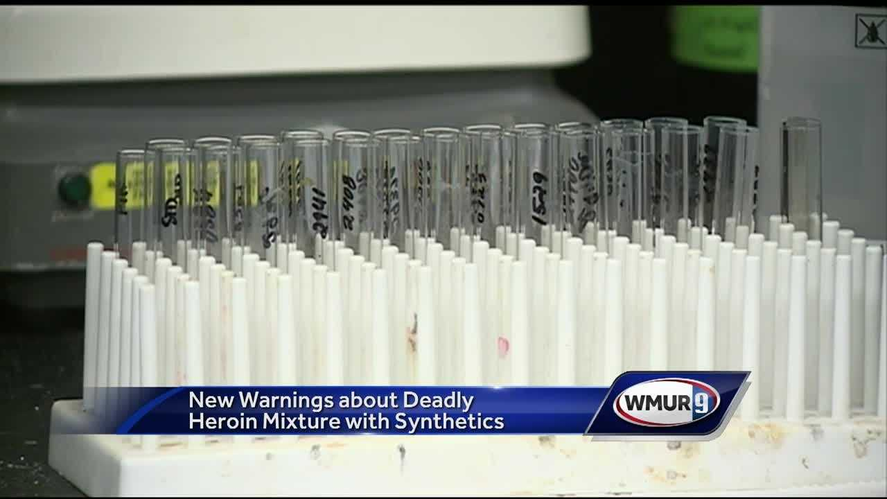 New England police are warning about a powerful new street drug that could be 100 times deadlier than fentanyl.