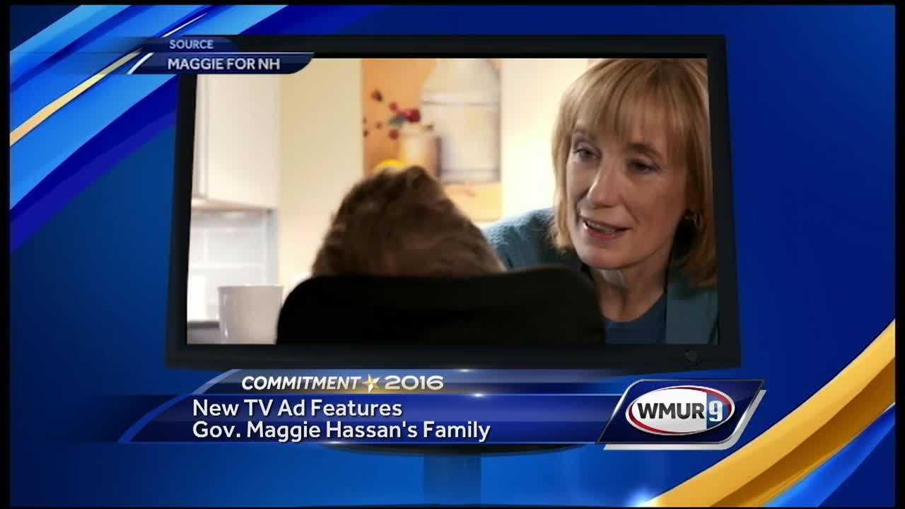 The U.S. Senate campaign for Gov. Maggie Hassan has launched its first statewide TV ad of the 2016 election cycle.