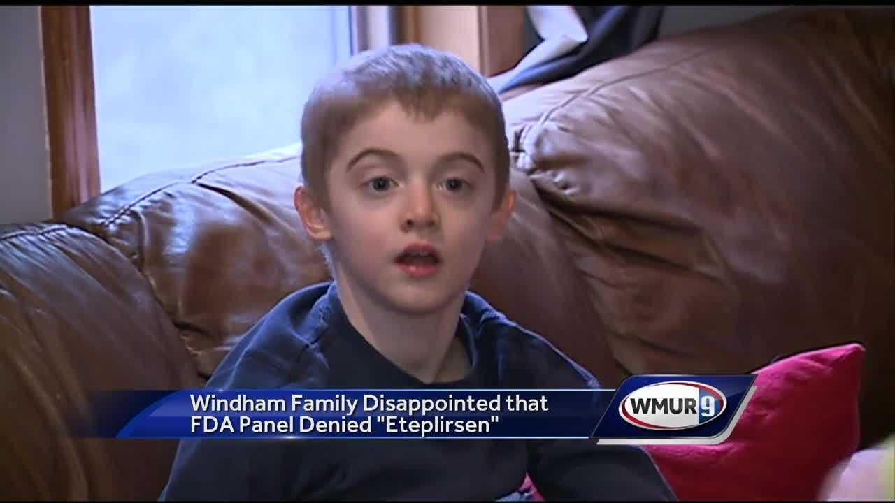 An 8-year-old boy's family is faced with a major hurdle: A drug they say could change the quality of his life got the thumbs down by a panel that advises the FDA.