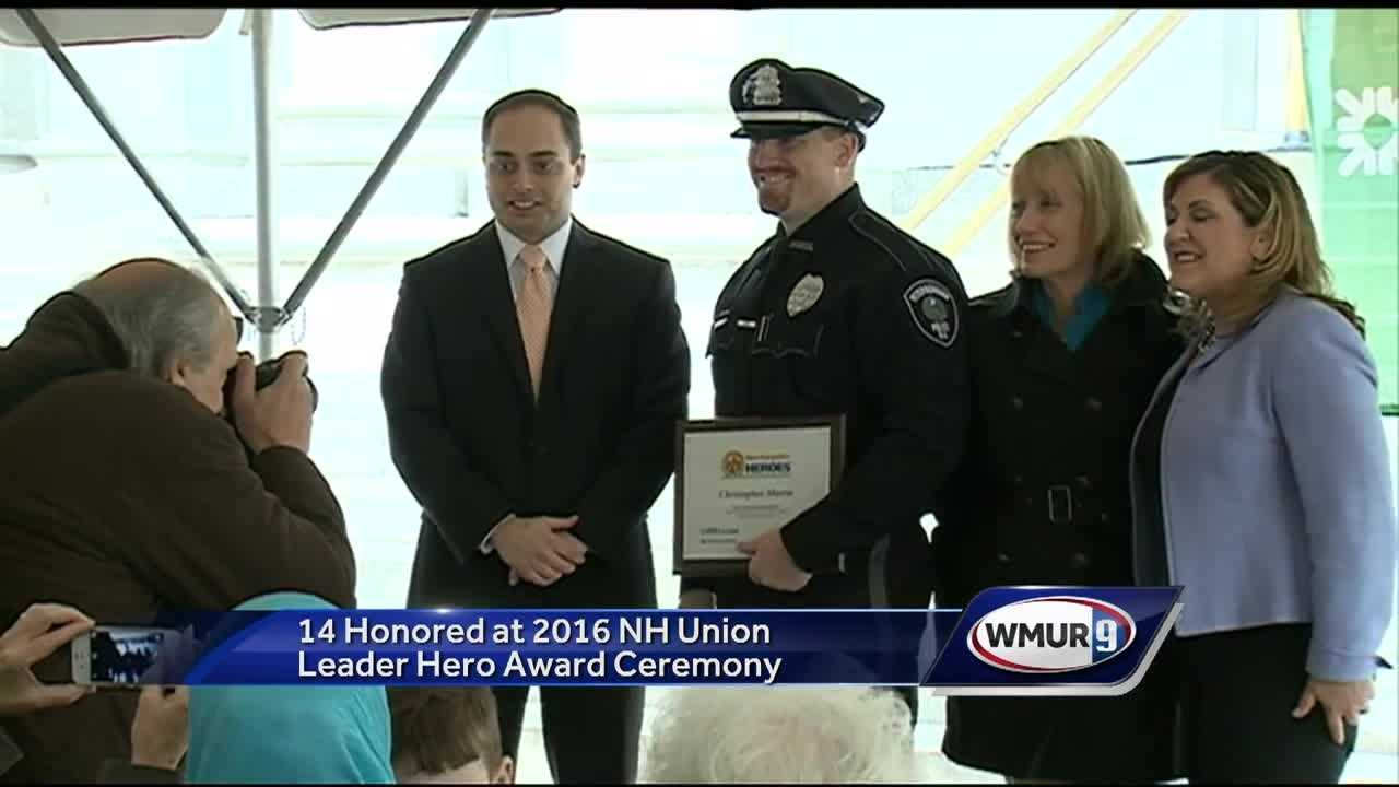 "Some of the most selfless people in the state of New Hampshire got some well-deserved recognition on Wednesday, when they were given ""Hero Awards"" at an annual ceremony held at the State House."