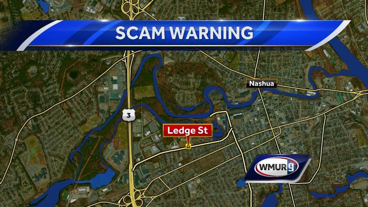 Nashua police are warning of a door-to-door scammer on Thursday night.