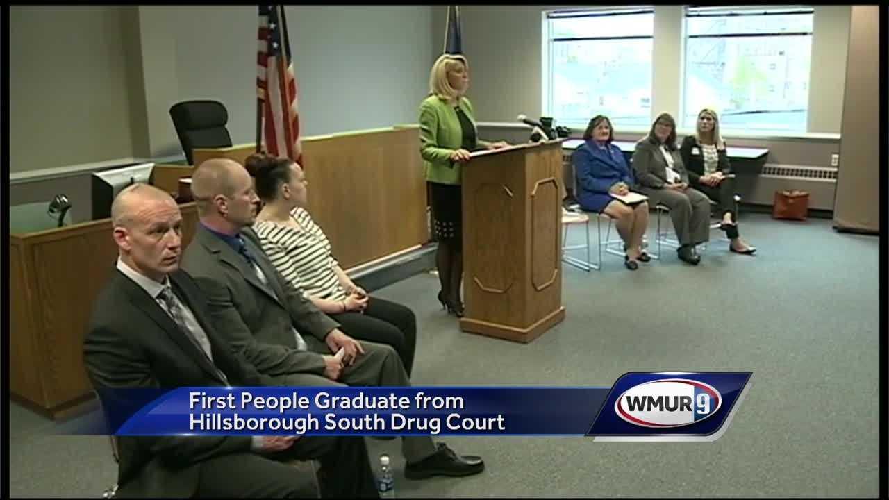 Drug court grads
