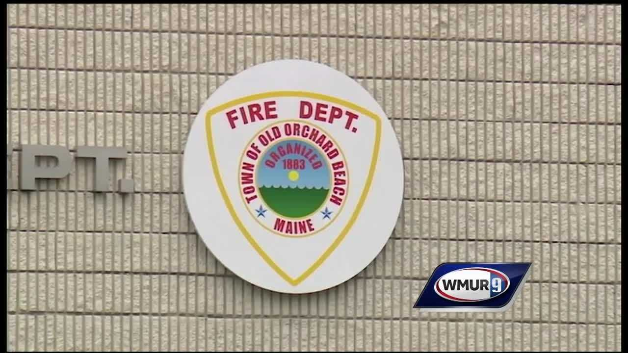 An Old Orchard Fire Chief is charged with arson and is the former Portsmouth chief.