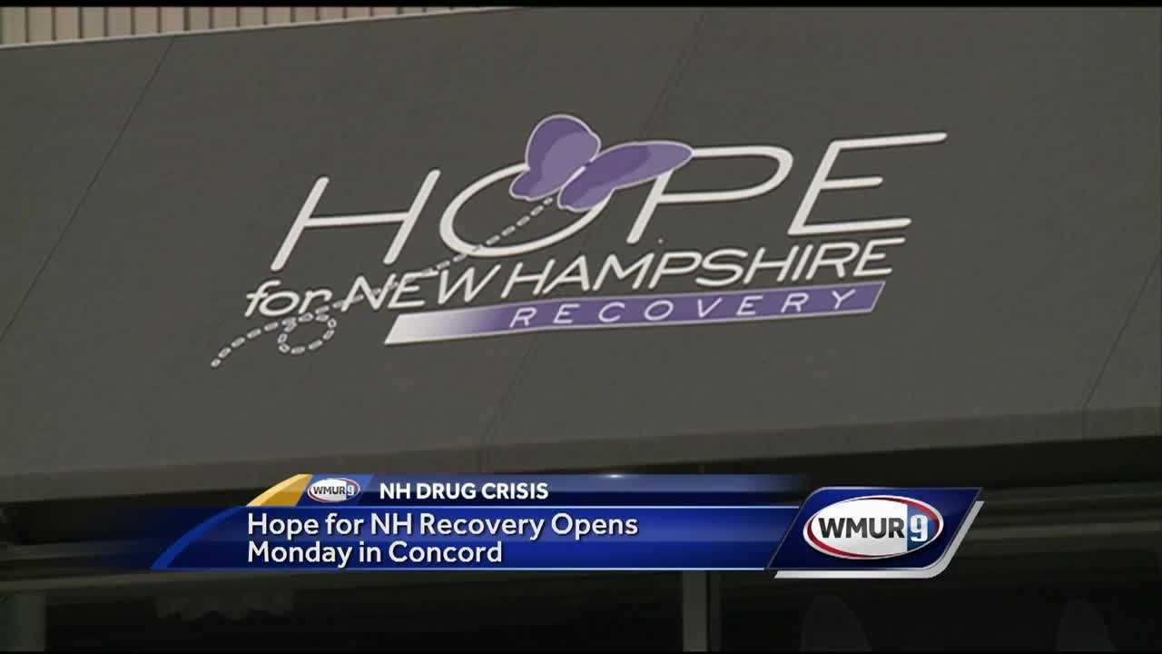 A new weapon in the fight against opioids in New Hampshire opens Monday morning in Concord.