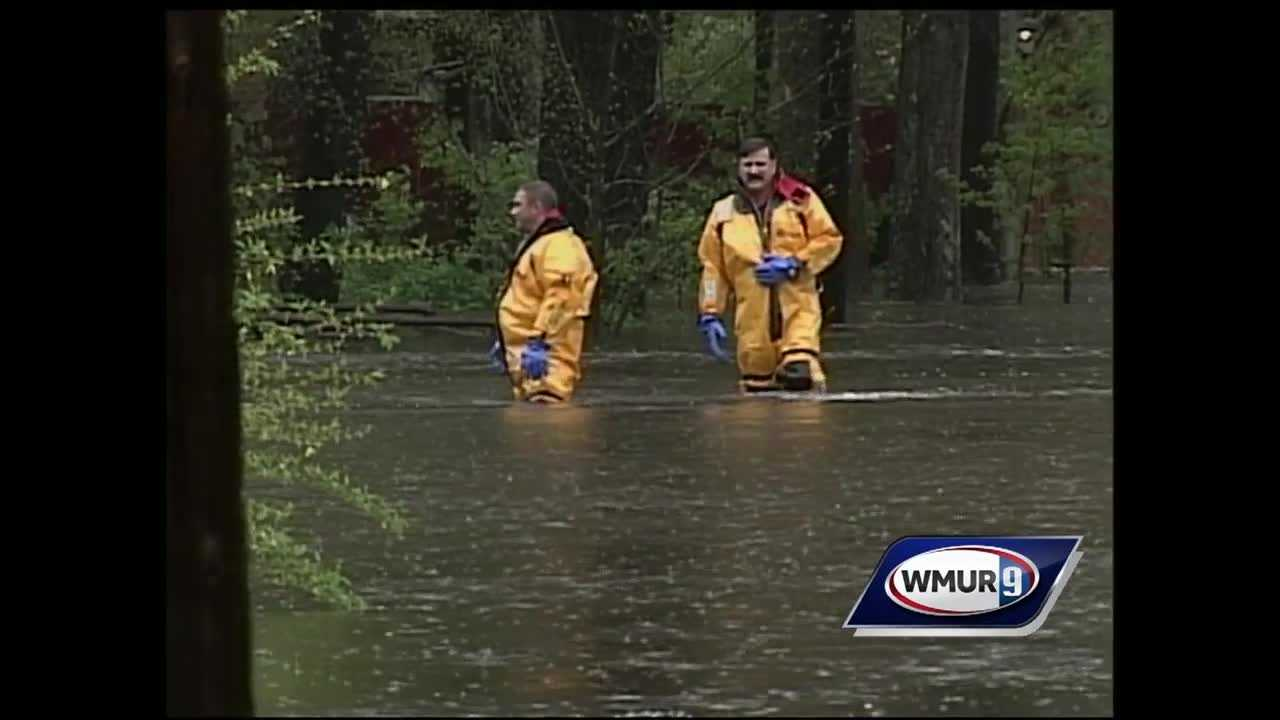 Ten years ago, heavy rains brought floods to New Hampshire that led to a state of emergency and millions of dollars in damage.