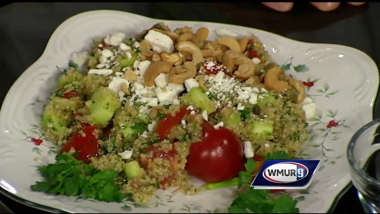 Oonagh Williams of Royal Temptations shows how to make this gluten-free twist on a fresh-tasting traditional Middle Eastern salad.
