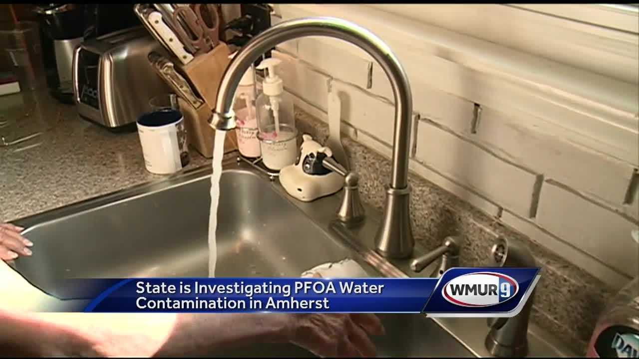 The state has found high levels of perfluorooctanoic acid in several private wells in Amherst.