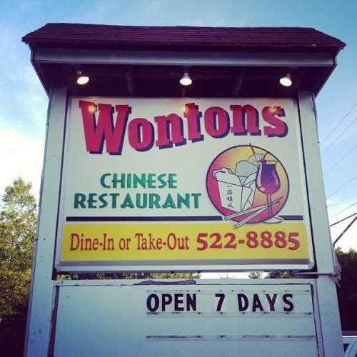 1. Wontons in Wakefield