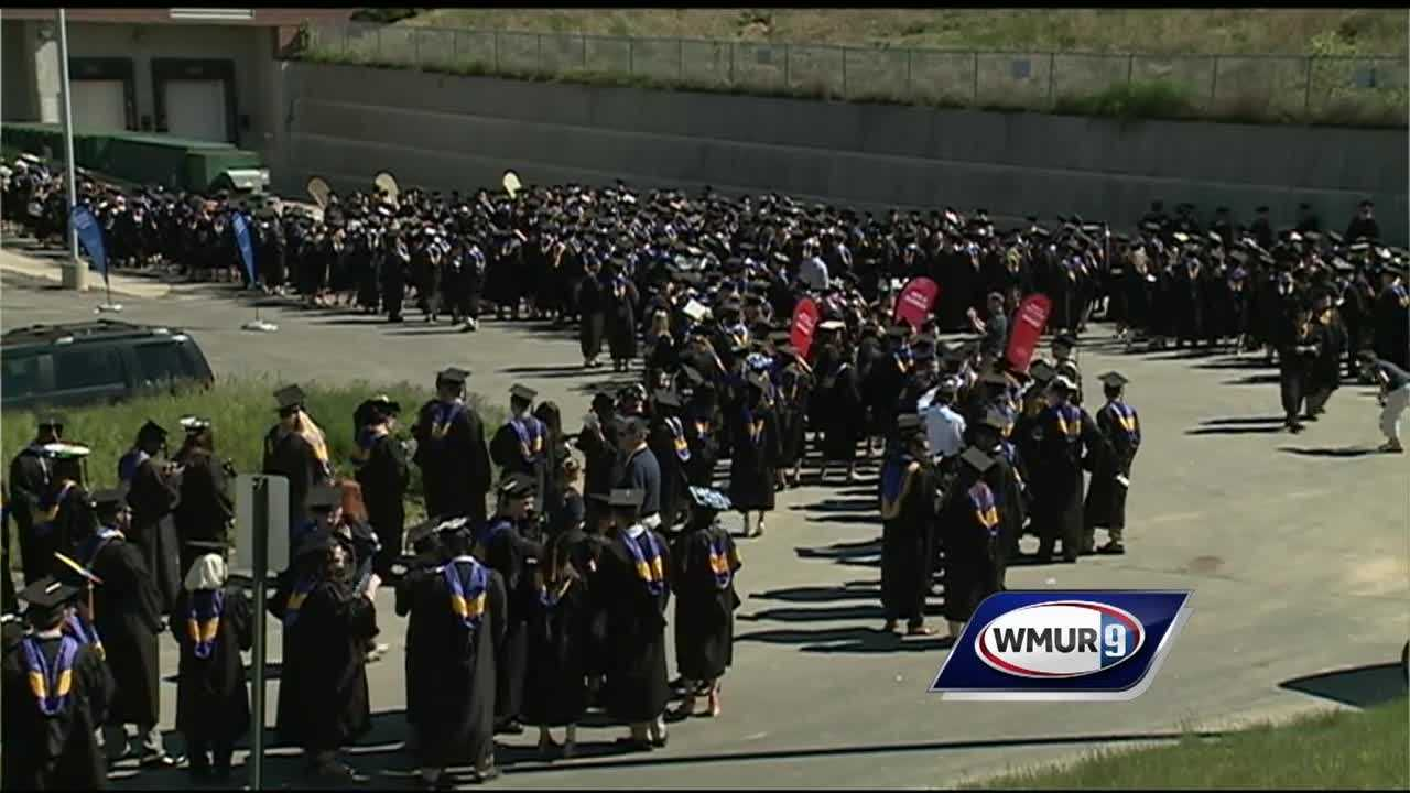 Hundreds of college students are graduating across the Granite State this weekend.