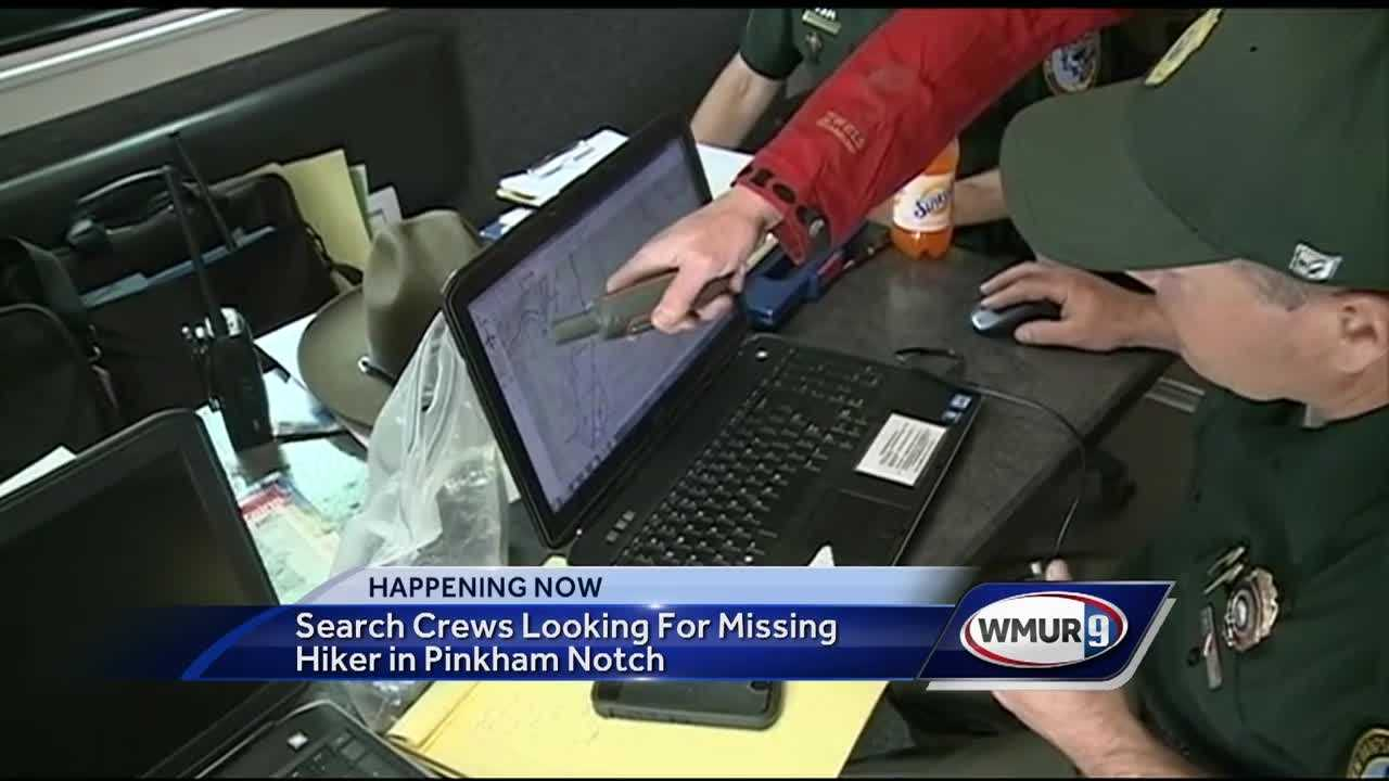 New Hampshire Fish and Game are looking for a hiker last seen at Pinkham Notch on Monday.