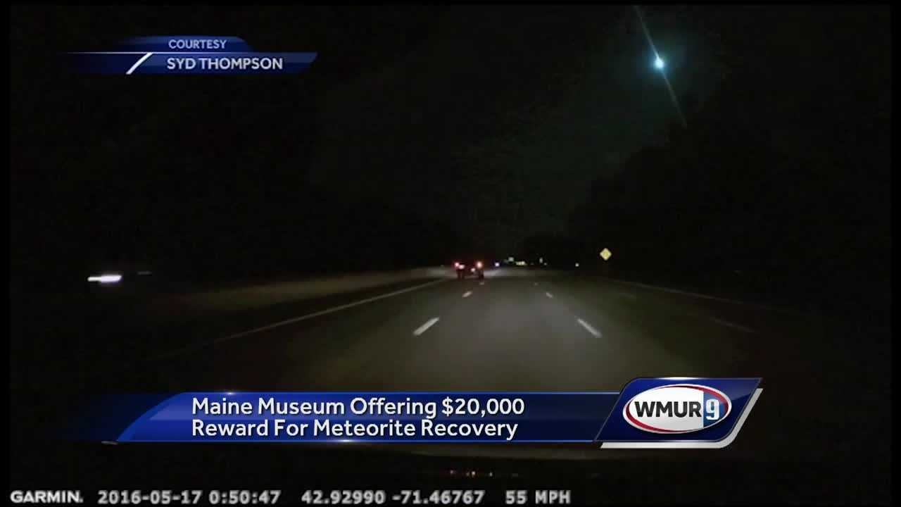 A bright flash caused by a meteor blazed over New Hampshire early Tuesday.