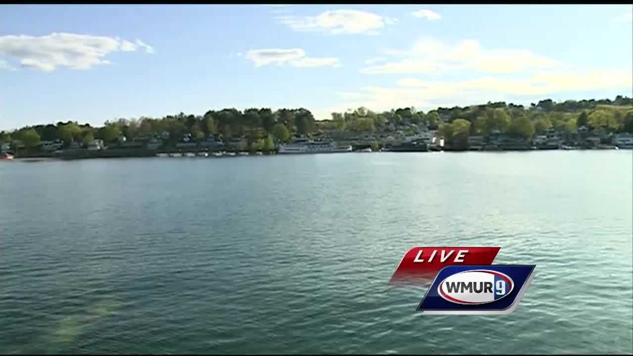 Chief meteorologist Mike Haddad is in Weirs Beach on a sister ship of the M/S Mount Washington.