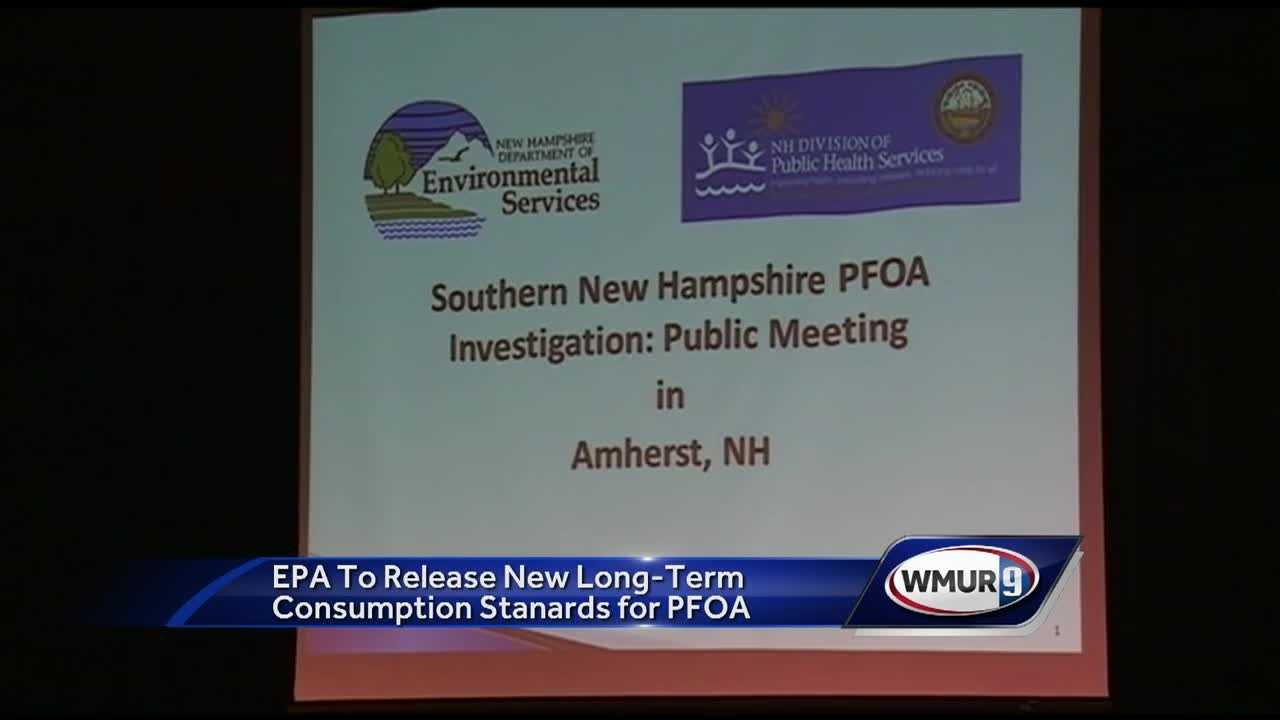 This was the first meeting about PFOA contamination in that town.