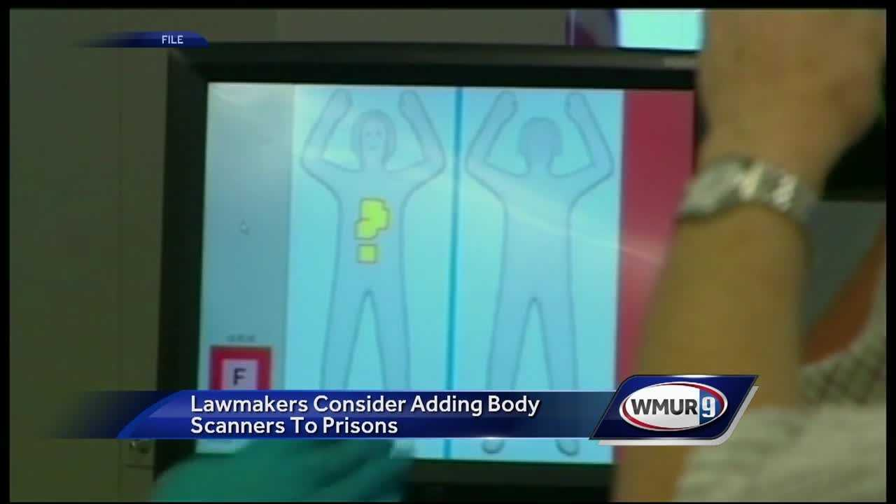 State lawmakers are considering adding body scanners to state prisons and county jails.