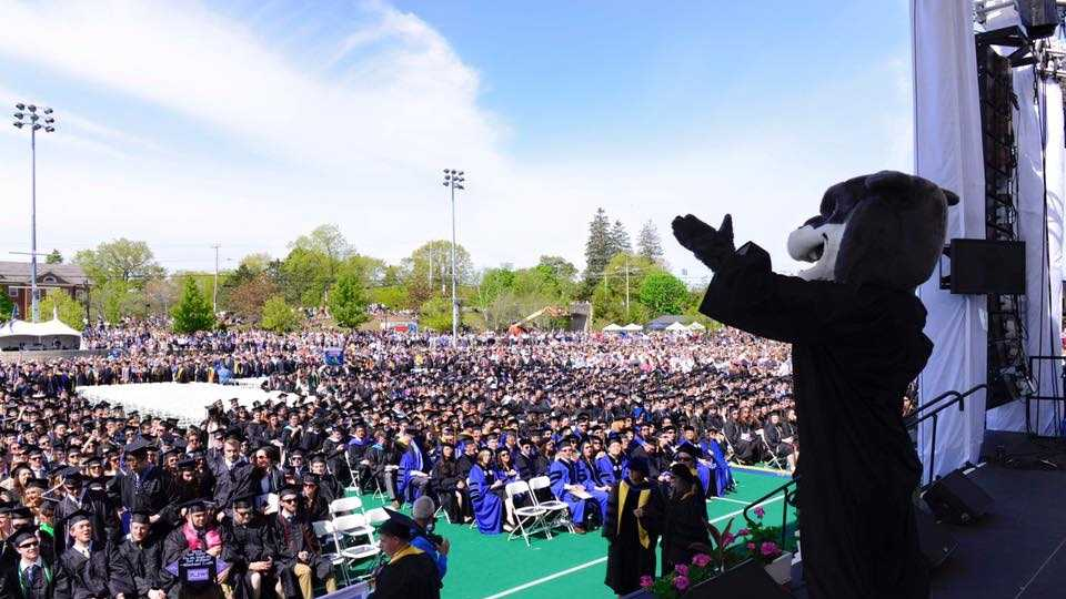 Graduates walked in ceremonies at UNH, Saint A's, and NCC.