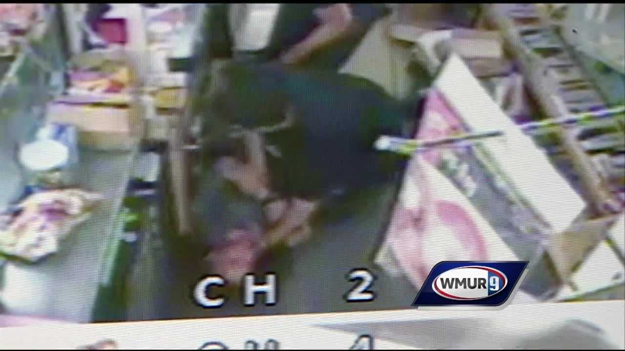 A convenience store clerk attacked a would-be armed robber over the weekend – and the whole incident was recorded on a surveillance camera.