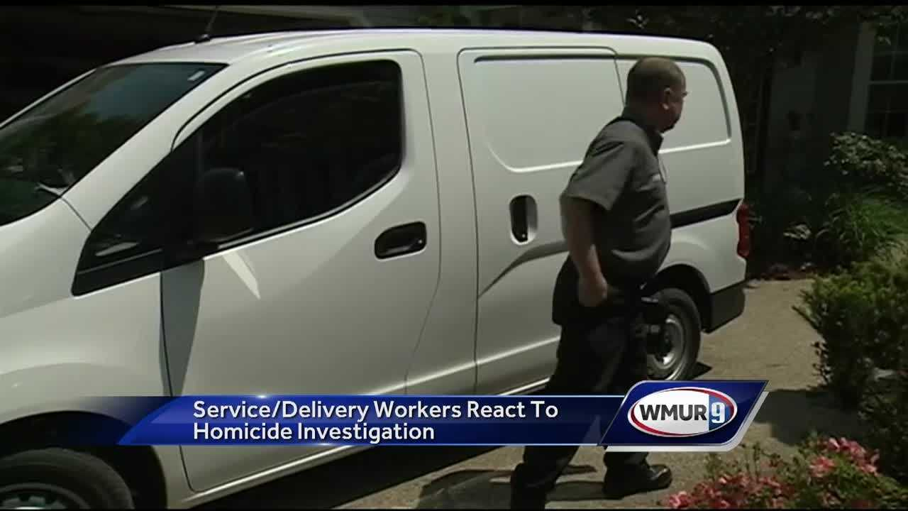 Business owners whose employees make deliveries or do service work in people's homes said they were saddened by the news that a heating oil worker was shot and killed in Londonderry.