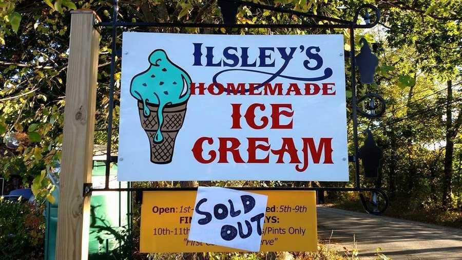 2. Llsley's Ice Cream in Weare
