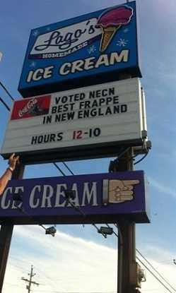 8. Lago's Ice Cream in Rye