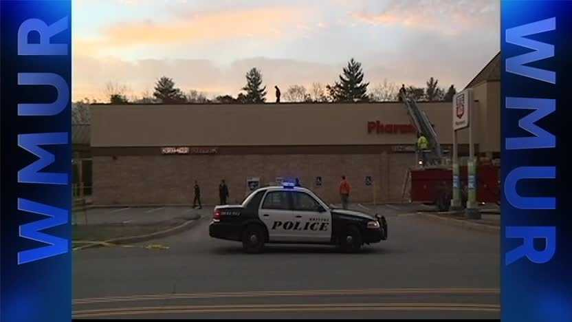 Scene from 2014 armed robbery at a Bristol Rite Aid.