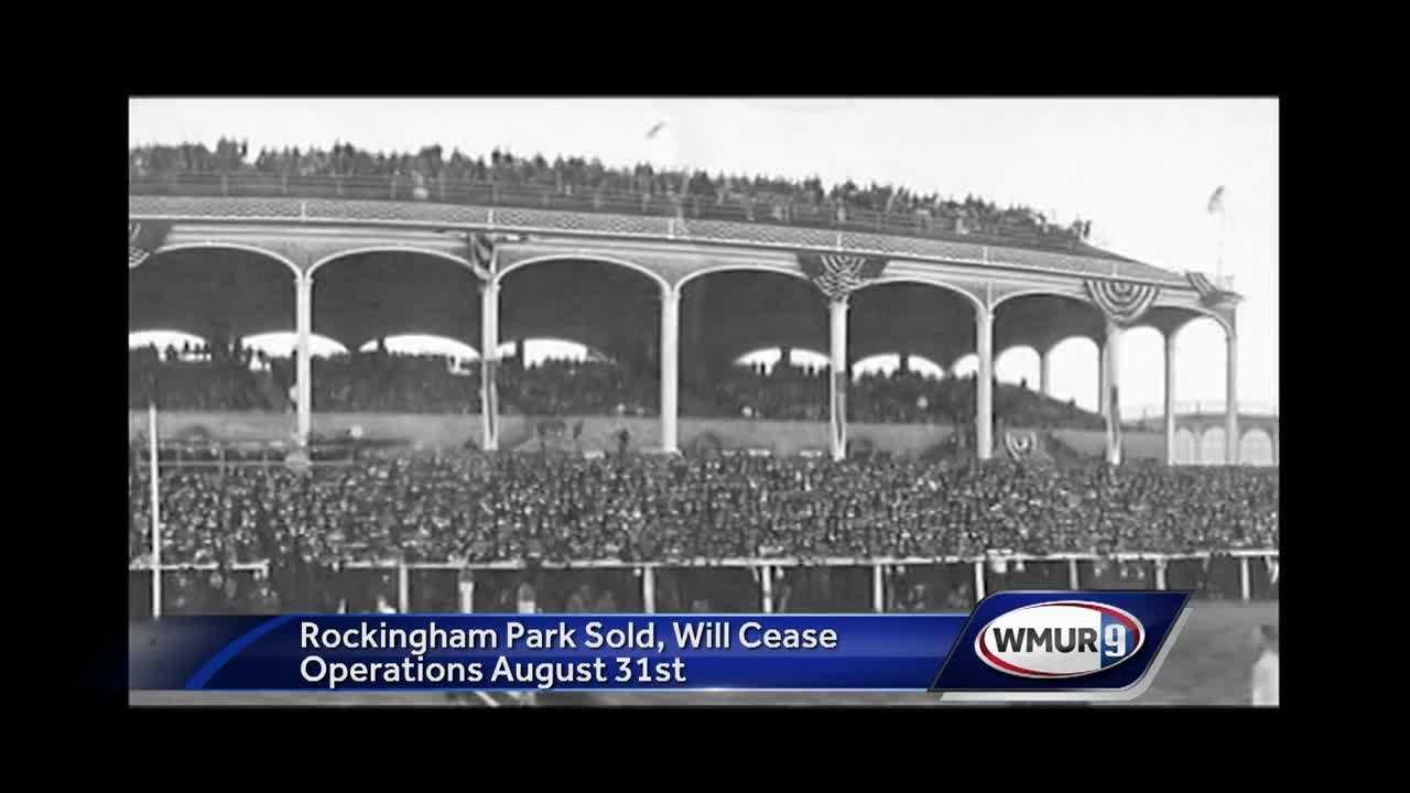 The first horse racing track built in New England has been sold.